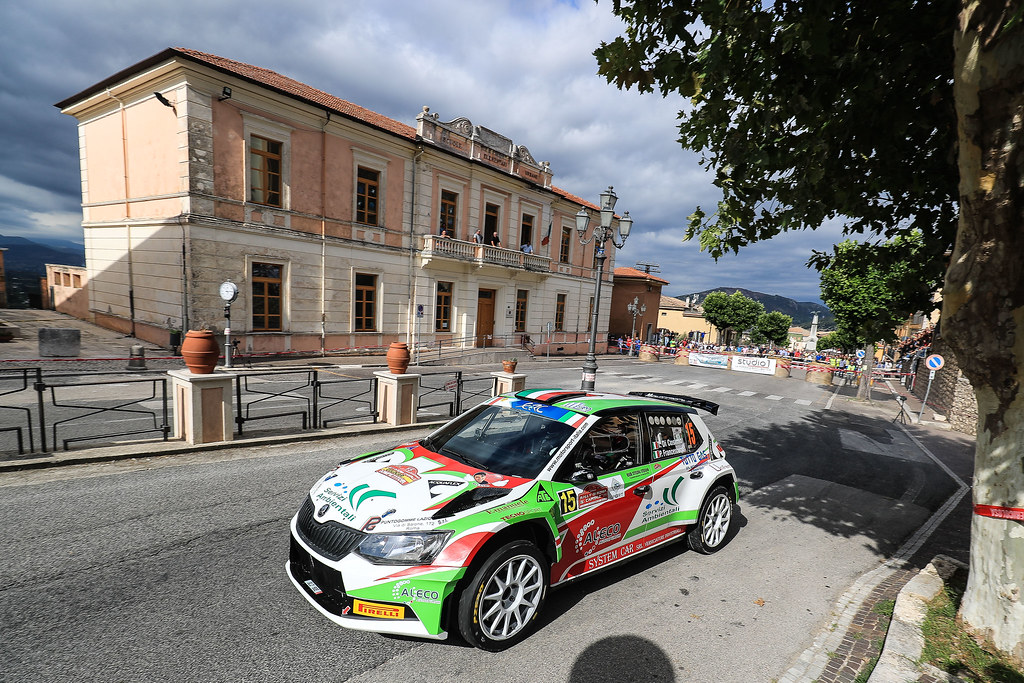 15 DI COSIMO Tonino (ITA) FRANCESCUCCI Paolo (ITA) Skoda Fabia R5 action during the 2017 European Rally Championship ERC Rally di Roma Capitale,  from september 15 to 17 , at Fiuggi, Italia - Photo Jorge Cunha / DPPI