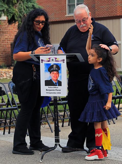 Remembering Chicago Police Officer Benjamin Perez, Star #12225 -  019