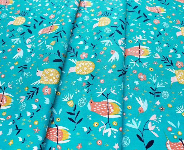 Moda Fabrics Wild Nectar 11801-16 Teal