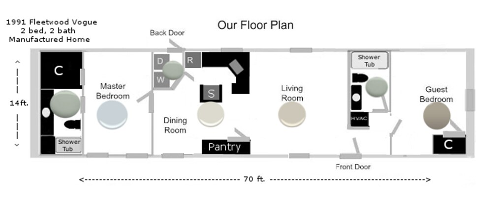 Floor Plan colors