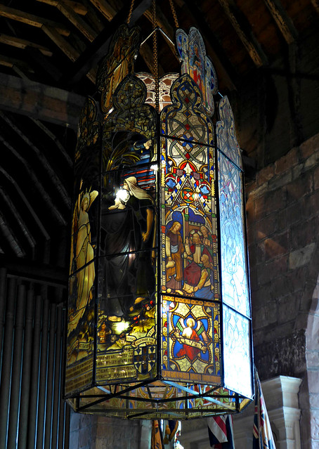 Stained Glass Lantern, Kinver, Panasonic DMC-TZ60