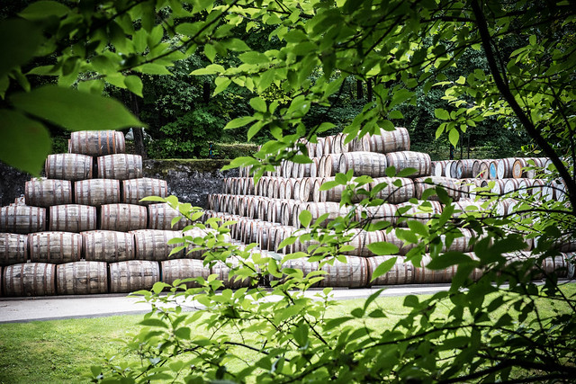Ready to be filled  - the art of a whisky distillery