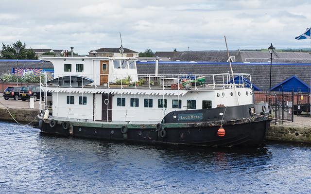 Loch Ness Barge