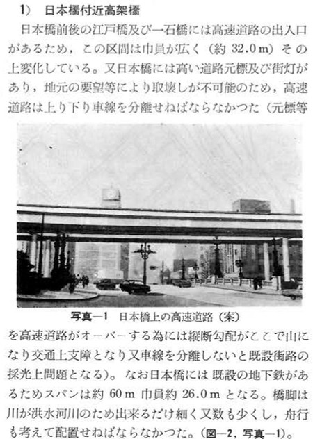 首都高速の日本橋川に架かる高架橋のデザイン等  (2)