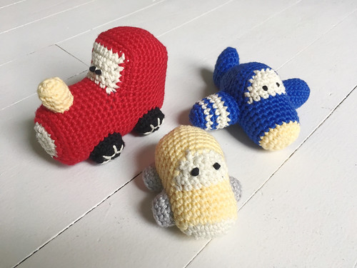 Crocheted Baby Gifts
