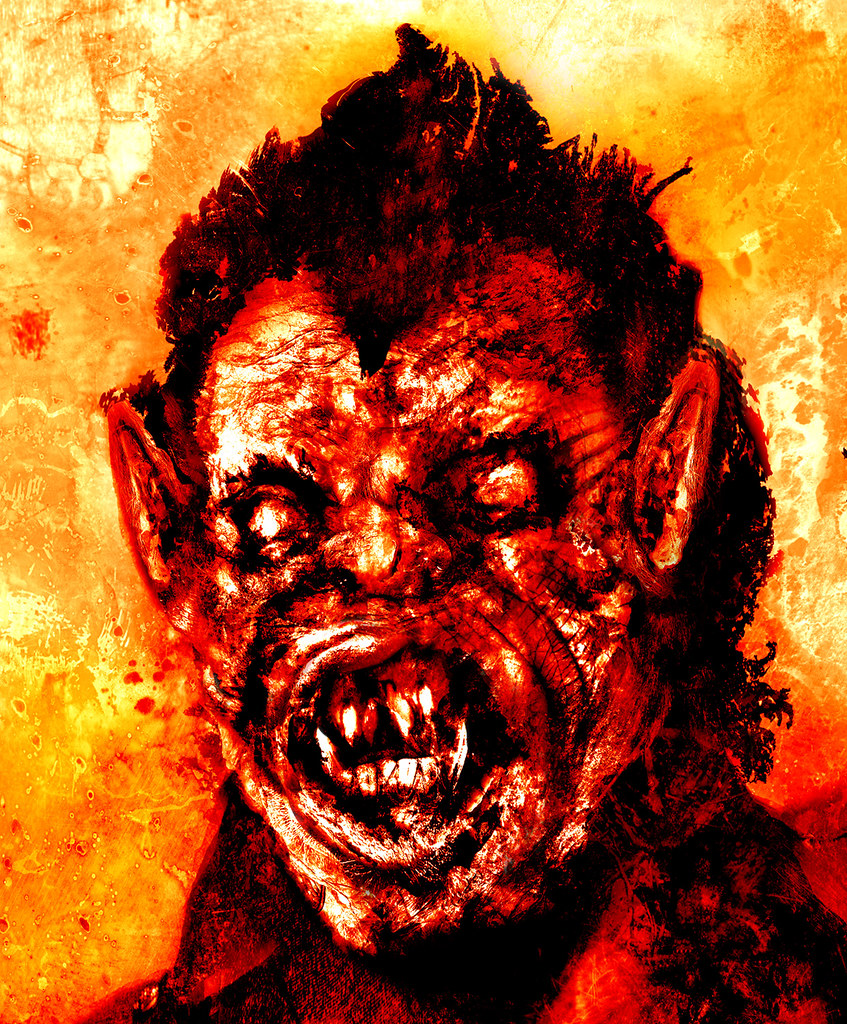 Aeron Alfrey - An American Werewolf In London - Detail 1