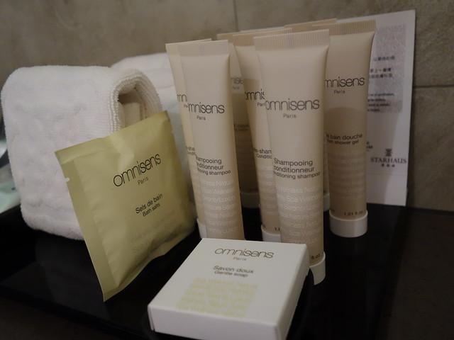 沐浴用品是法國 SPA 品牌 Omnisens Paris@高雄喜達絲飯店