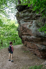 A walk in Vosges du Nord regional park - Photo of Uhrwiller