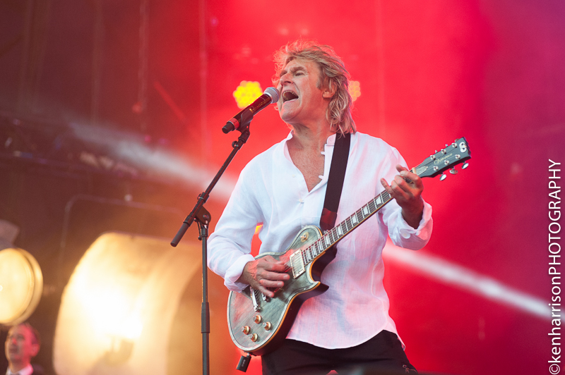 06th August, 2017. John Parr plays Rewind North, Macclesfield, UK