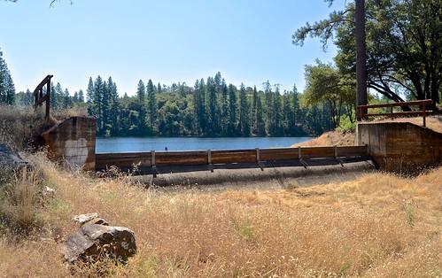Tabeaud Dam Spillway, PG&E,