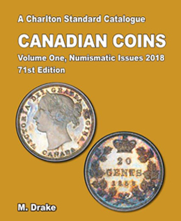 Charleton Canadian Coins 71st edition