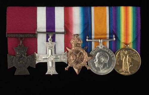 Captain Harold Ackroyd medals