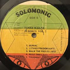 BUNNY WAILER:DUBD'SCO VOL.2(LABEL SIDE-B)