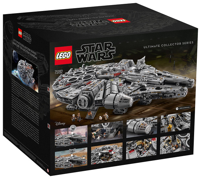 75192 Ultimate Collector Series Millennium Falcon  2