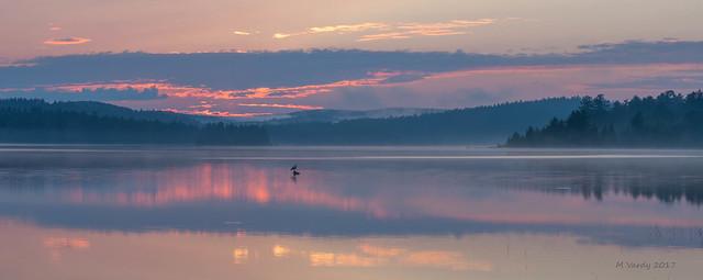 Sunset on the lake, Nikon D500, AF-S Zoom-Nikkor 24-70mm f/2.8G ED