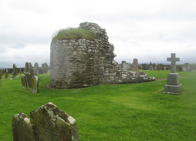 Remains of Round Church, Orphir, Orkney