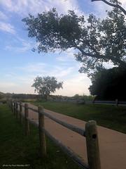 walkway along Snakey Lane
