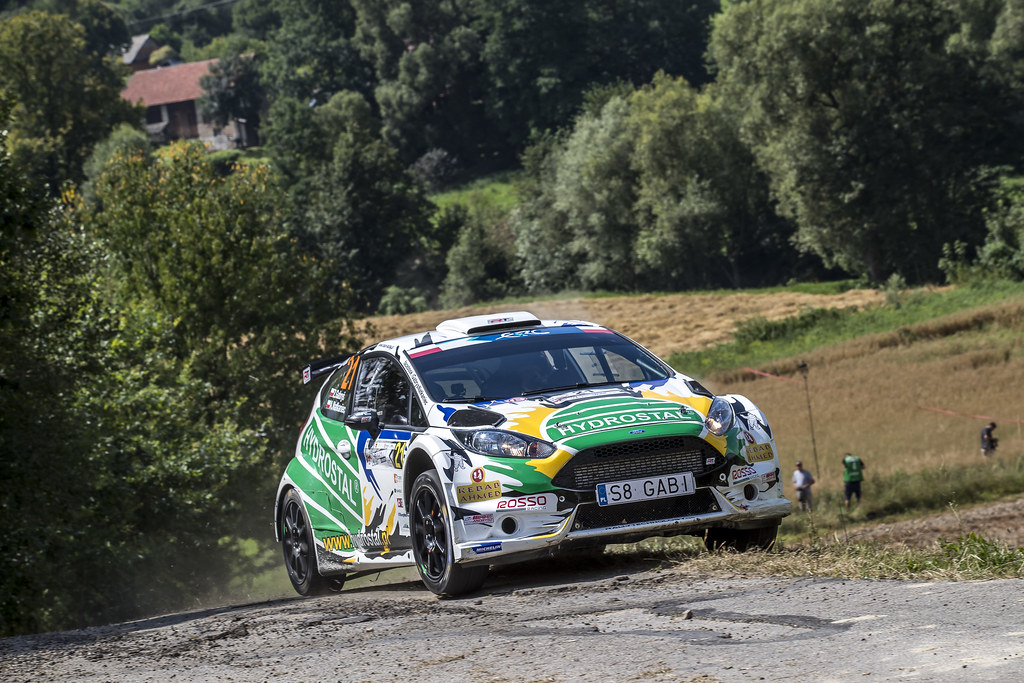 21 GABRYS Zbigniew (POL) NATKANIEC Artur (POL) Ford Fiesta R5 action during the 2017 European Rally Championship Rally Rzeszowski in Poland from August 4 to 6 - Photo Gregory Lenormand / DPPI