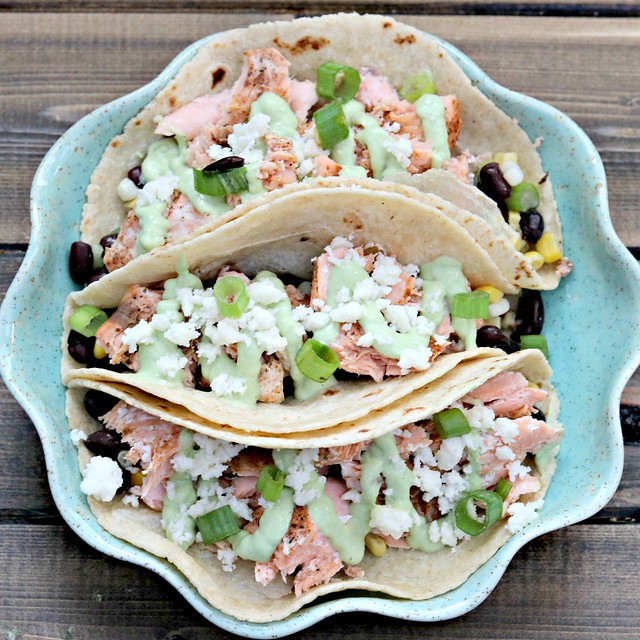 Blackened Salmon Tacos Sq