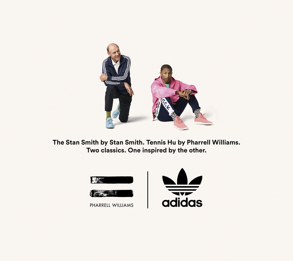 adidas Originals x PHARRELL WILLIAMS x STAN SMITH形象照-2