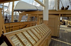 Charles W Morgan deck and skylight