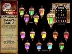 Moroccan Hanging Lamp - Gacha