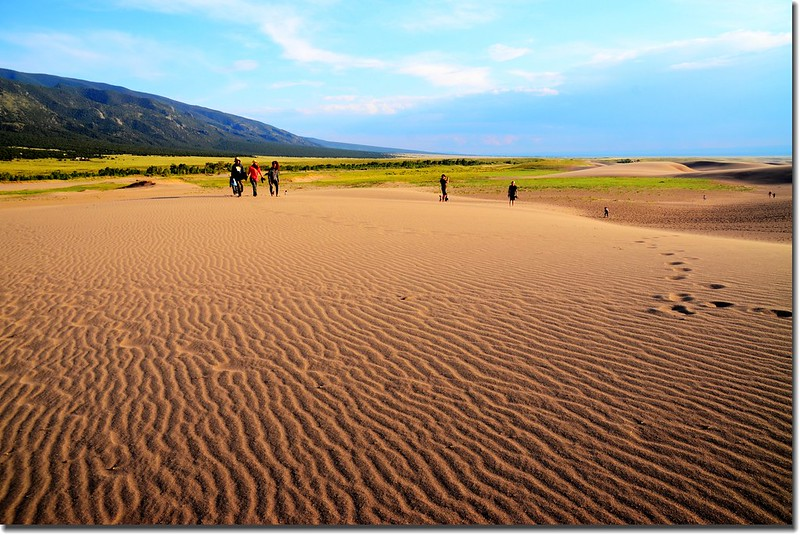 Dusk at Great Sand Dunes National Park  (10)