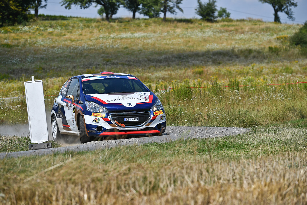 37 MURADIAN Artur (RUS) CHELEBAEV Pavel (RUS)  Peugeot 208 R2 action during the 2017 European Rally Championship Rally Rzeszowski in Poland from August 4 to 6 - Photo Wilfried Marcon / DPPI