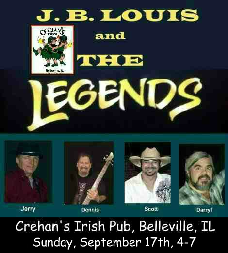 J.B. Louis and The Legends 9-17-17
