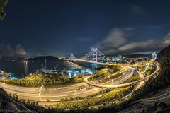 Tsing Ma Bridge Nights eyefish ,HK