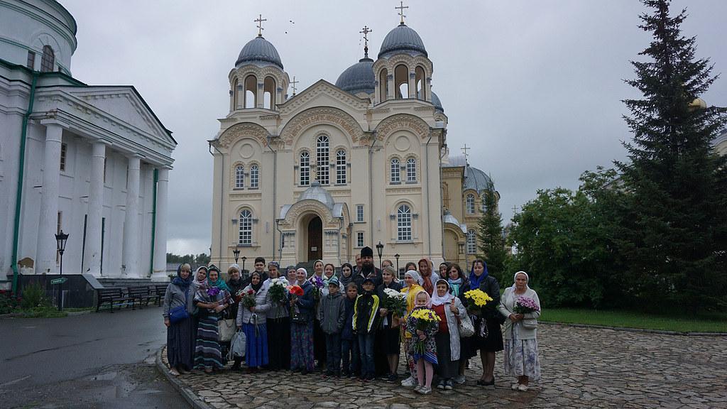 Паломническая группа прихода храма в честь святого праведного Симеона Верхотурского вернулась из увлекательного путешествия по святым местам Урала