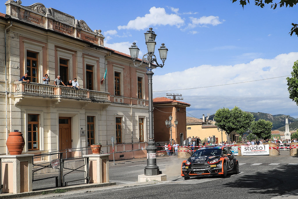 03 LUKYANUK Alexey (RUS) ARNAUTOV Alexey (RUS) Ford Fiesta R5 action during the 2017 European Rally Championship ERC Rally di Roma Capitale,  from september 15 to 17 , at Fiuggi, Italia - Photo Jorge Cunha / DPPI