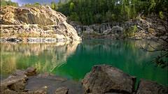 Uskavi limestonequarry.