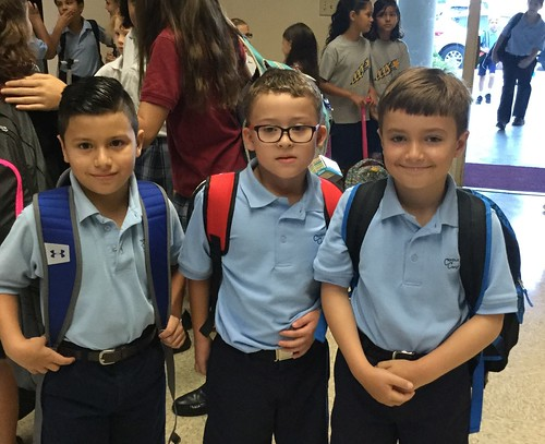 2017 Back to School at Corpus Christi School