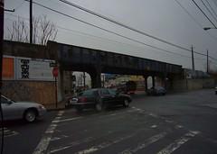 LIRR overpass, Corona