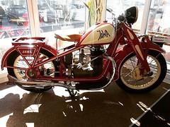 Jawa Rumpál Photo courtesy of @retrogaraz More photos on - http://ift.tt/1MOOLiU   #Jawa   #JawaMotorcycles.com   #MadeInCzechoslovakia  #2Stroke   #Chrome   #Biker   #Motorcycles   #JawaCZ   #Yezdi   #Retro   #Vintage   #VintageStyle   #caferacer   #Inst