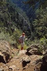 Arizona   -   Oak Creek Canyon   -   John   -   September 1992
