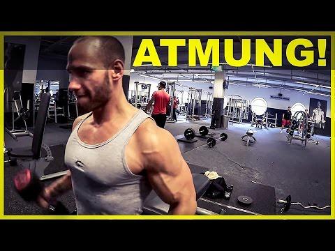 100% authentifiziert aliexpress elegant und anmutig Exercice du sport en Vidéos : Richtig Atmen beim Fitness T ...