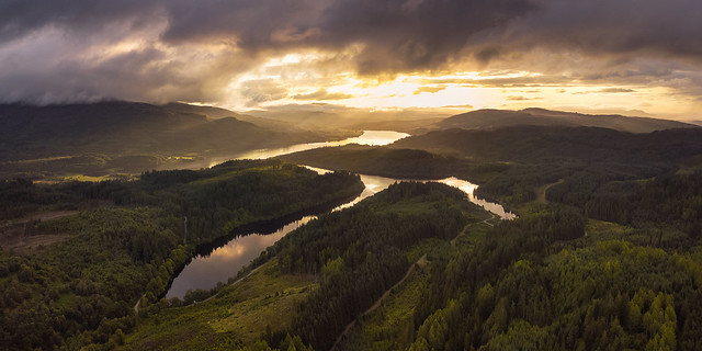 The Trossachs Lochs