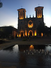Cathedral at dusk