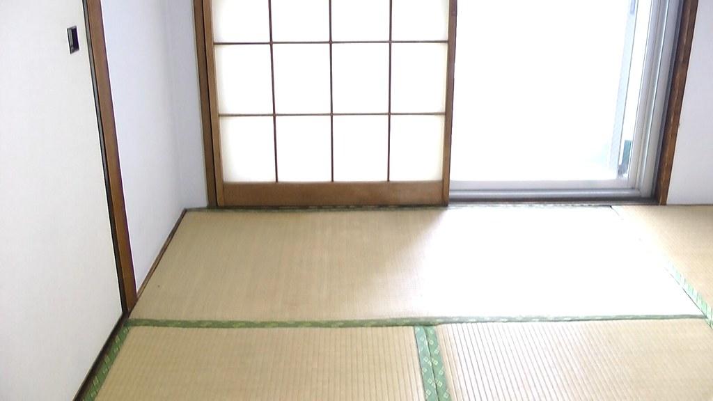 2017年05月12日玄関から入って右手にあった和室
