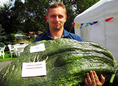 Manor House Allotments, First Prize Marrow in the Annual Show