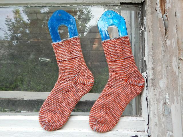 полосатые носки | striped socks - 4