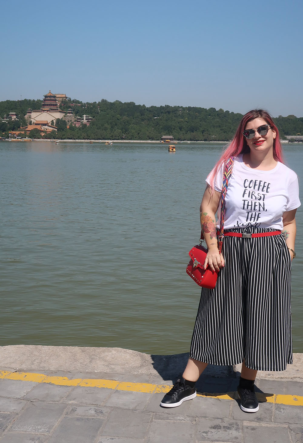 outfit plus size con culottes handmade donald stanley e shirt (7)