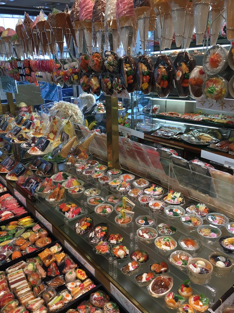 Food Models for sale at Kappabashi Cooking Street
