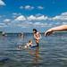kids at jones beach