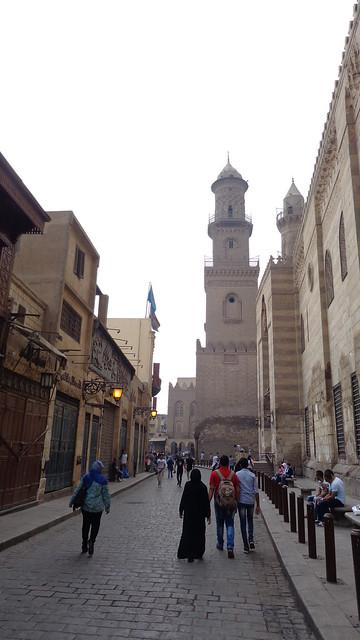 Walking down El Moez Street