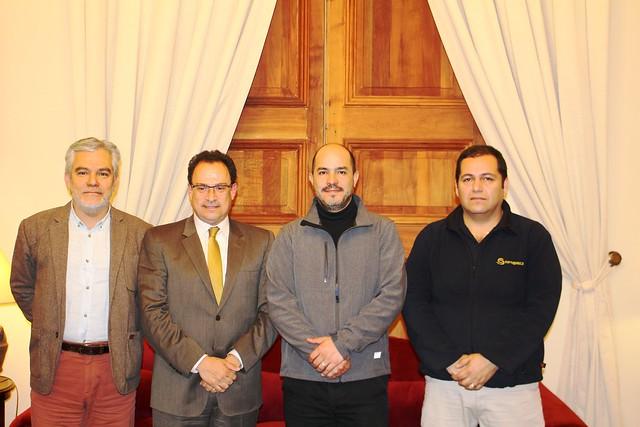 ANEF y AFUS con SEGPRES por proyecto de modernización de SERNAPESCA (27-09-2017)