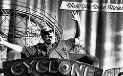 Cyclone Rider  2 - Coney Island