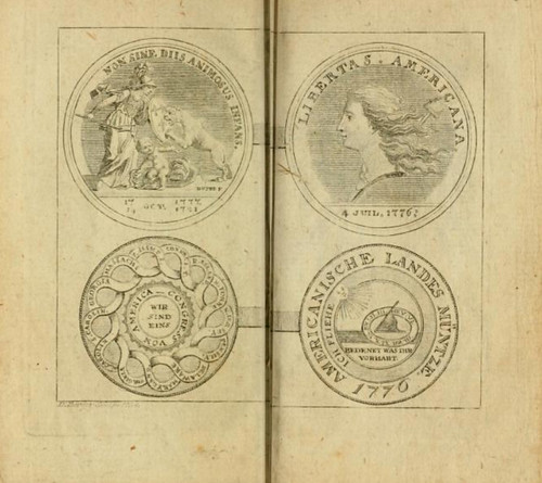 Allgemeines historisches Taschenbuch plate Continental Dollar